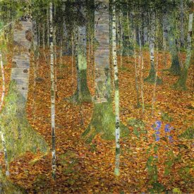 Gustav Klimt - Birch Wood 1903