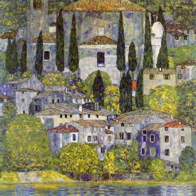 Gustav Klimt - Church At Cassone Sul Garda