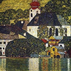 Gustav Klimt - Church At Unterach On The Attersee