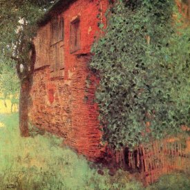 Gustav Klimt - Farmhouse At Kammer