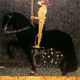Gustav Klimt - Golden Knight