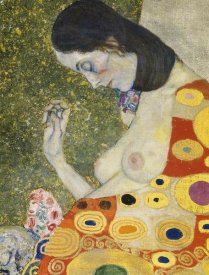 Gustav Klimt - Hope II (detail) 1908