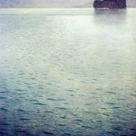 Gustav Klimt - Island In Lake Atter