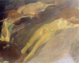 Gustav Klimt - Moving Water 1898