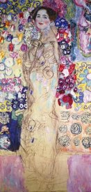 Gustav Klimt - Portrait Of A Lady 1918