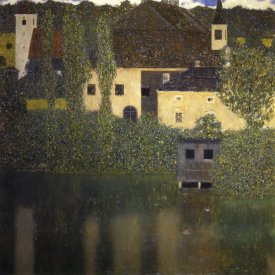 Gustav Klimt - Schloss Kammer On The Attersee I 1908