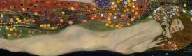 Gustav Klimt - Sea Serpents III