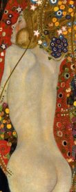 Gustav Klimt - Sea Serpents IV