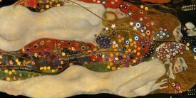Gustav Klimt - Sea Serpents V