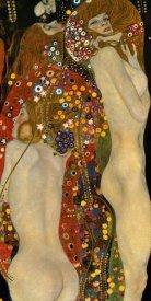 Gustav Klimt - Sea Serpents VI