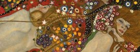 Gustav Klimt - Sea Serpents VII