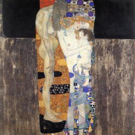 Gustav Klimt - Three Ages Of Woman 1905