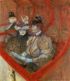 Henri Toulouse-Lautrec - A Box At The Theater