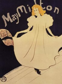 Henri Toulouse-Lautrec - May Milton