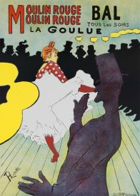 Henri Toulouse-Lautrec - Moulin Rouge