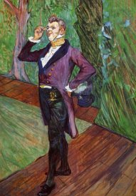 Henri Toulouse-Lautrec - Portrait Of MSamary