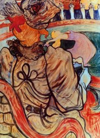 Henri Toulouse-Lautrec - The Dancer And The Five Stuffed Shirts