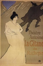 Henri Toulouse-Lautrec - The Gypsy