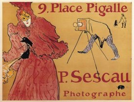 Henri Toulouse-Lautrec - The Photographer Paul Sescau