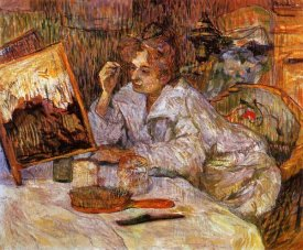 Henri Toulouse-Lautrec - Woman At Her Toilet 2