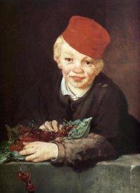 Edouard Manet - Boy with Cherries
