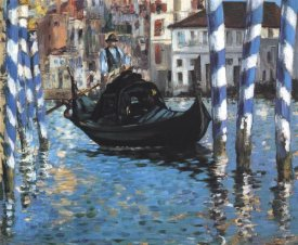 Edouard Manet - Grand Canal Blue Venice
