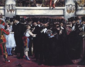 Edouard Manet - Masked Ball at Opera