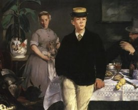 Edouard Manet - The Luncheon, 1868