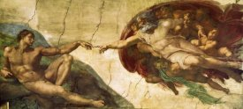 Michelangelo - Creation Of Adam (1)