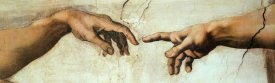 Michelangelo - Creation Of Adam (Detail 2)