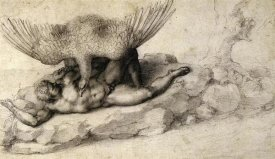 Michelangelo - Punishment Of Tityus-2