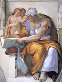 Michelangelo - The Cumean Sibyl