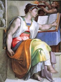 Michelangelo - The Erythraean Sibyl