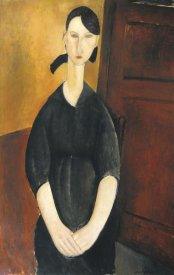 Amedeo Modigliani - Paulette Jourdain