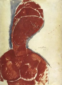 Amedeo Modigliani - Portrait In Red