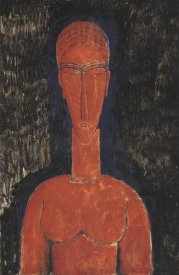 Amedeo Modigliani - Red Bust