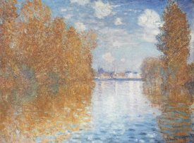 Claude Monet - Autumn Effect at Argenteuil, 1873
