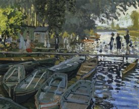 Claude Monet - Bathing At La Grenouillere 1869