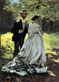 Claude Monet - Bazille And Camille 1865