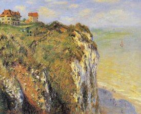 Claude Monet - Cilffs At Dieppe 1882