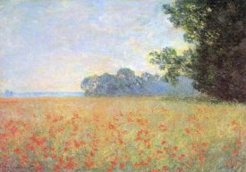 Claude Monet - Field Of Oats With Poppies 1890