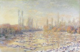 Claude Monet - Floating Ice 1880