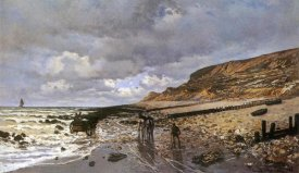 Claude Monet - La Pointe De La Heve At Low Tide