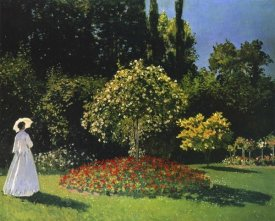 Claude Monet - Lady In The Garden 1867