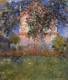 Claude Monet - Monets House At Argenteuil 1876