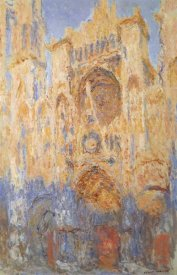 Claude Monet - Rouen Cathedral Sun Effect End Of The Day