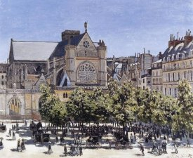 Claude Monet - Saint-Germain-LAuxerrois 1866