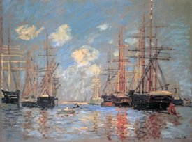 Claude Monet - Seascape The Port Of Amsterdam 1874