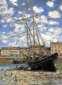 Claude Monet - Ship Aground 1881