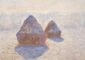Claude Monet - Stacks Of Wheat Winter Effect